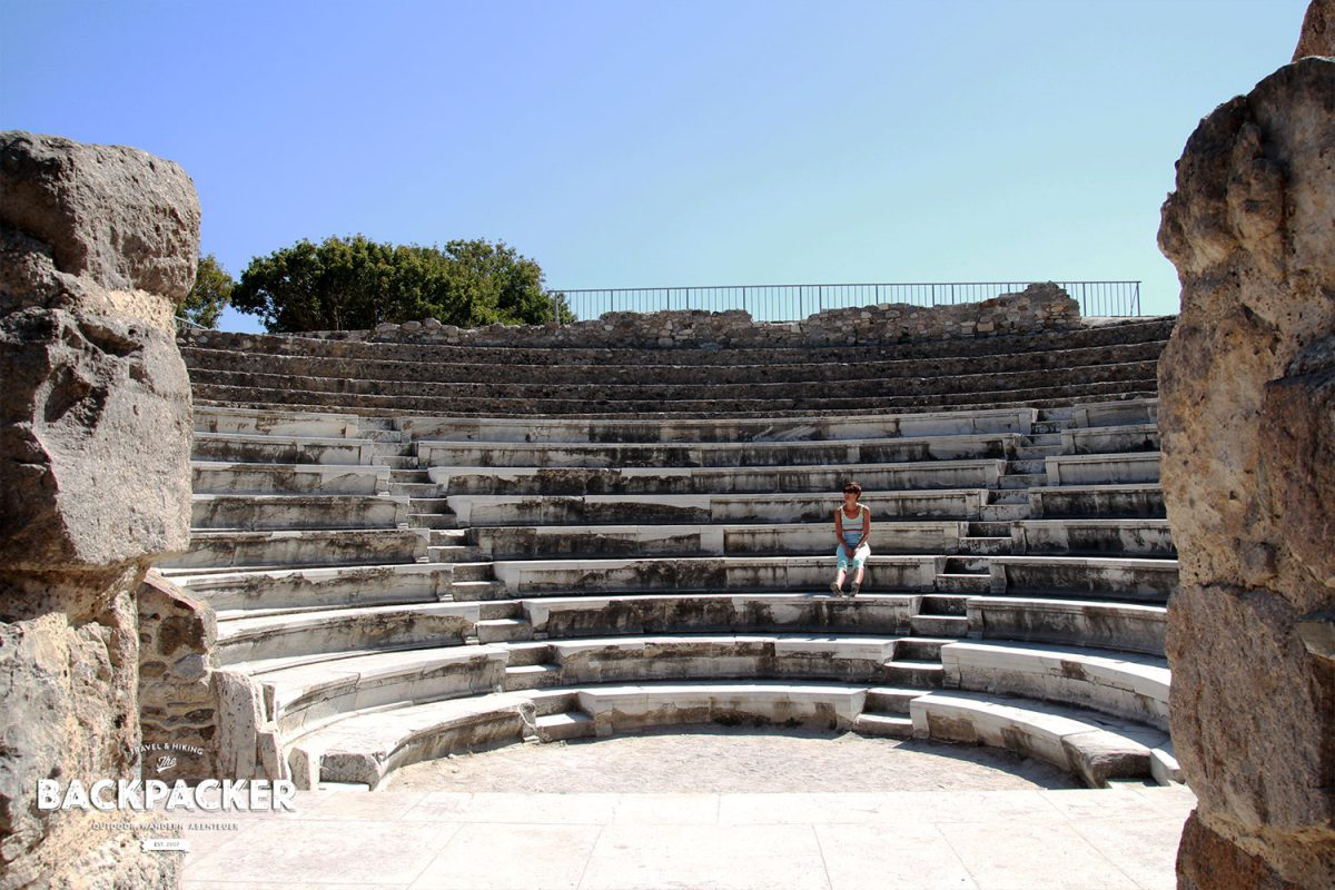 Amphitheater at its best: das Odeon von Kos.
