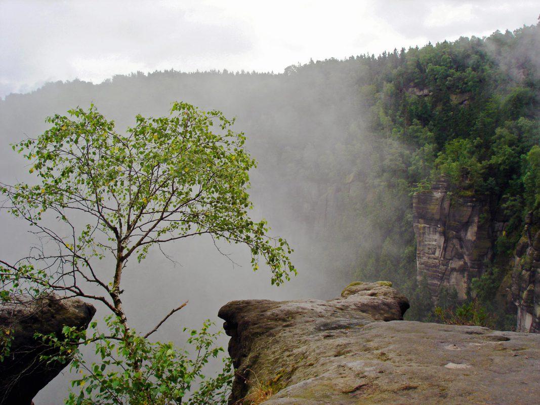 Ausblick aus der Ida-Grotte