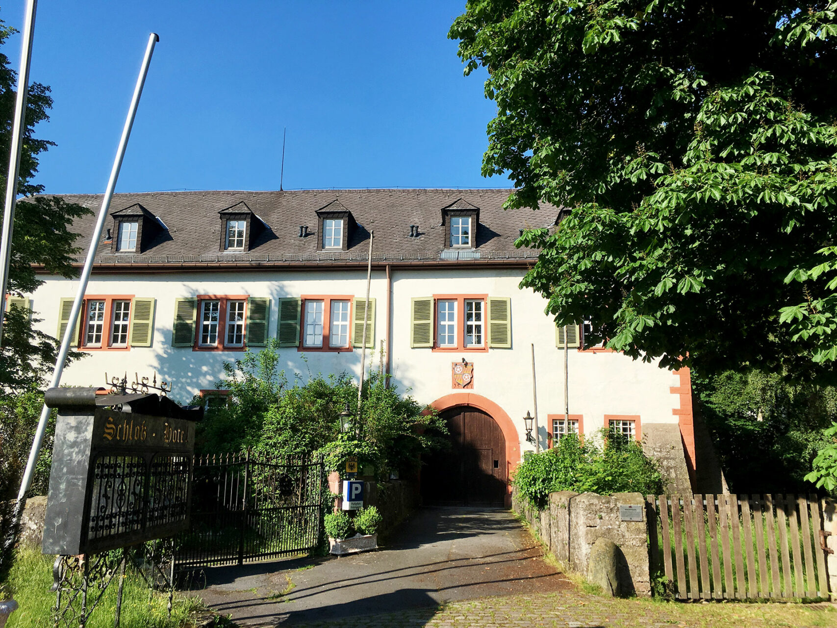 Das ehemalige Jagdschloss Rothenbuch wurde bereits 1567 erbaut.