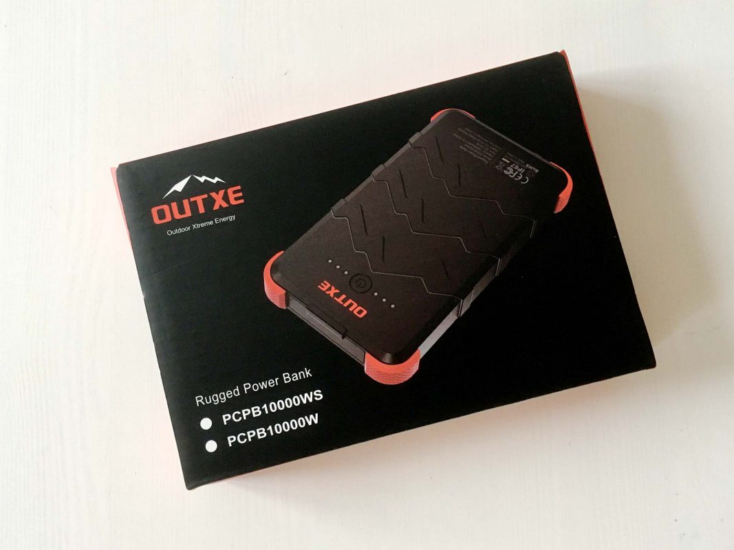 Vorgestellt: die Power Bank PCPB10000WS der Firma OUTXE – Outdoor Xtreme Energy