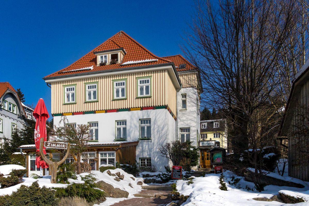 Mehr für ursprüngliche Gemüter als Spa-Verwöhnte: die Pension Andrä in Schierke