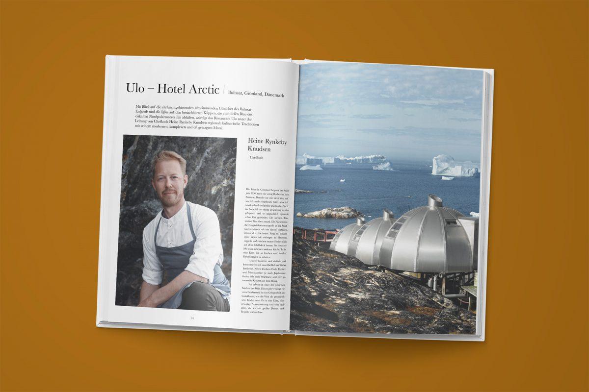 Heine Rynkeby Knudsen, Chefkoch des Hotel Arctic in Grönland // © Nordic by Nature, Gestalten 2018