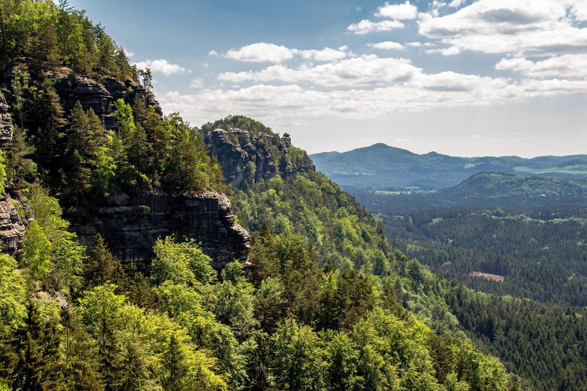 Auch die böhmische Schweiz weiß mit wilder unberührter Natur zu begeistern