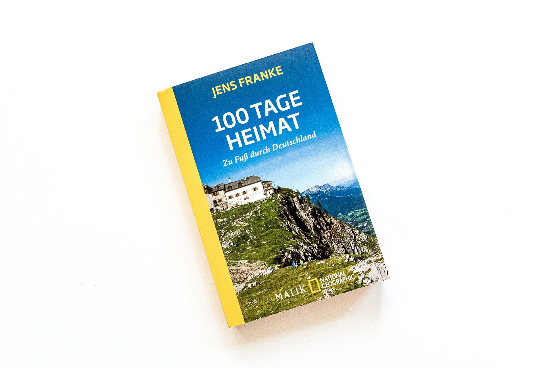 "Cover des Buches ""100 Tage Heimat"" von Jens Franke"
