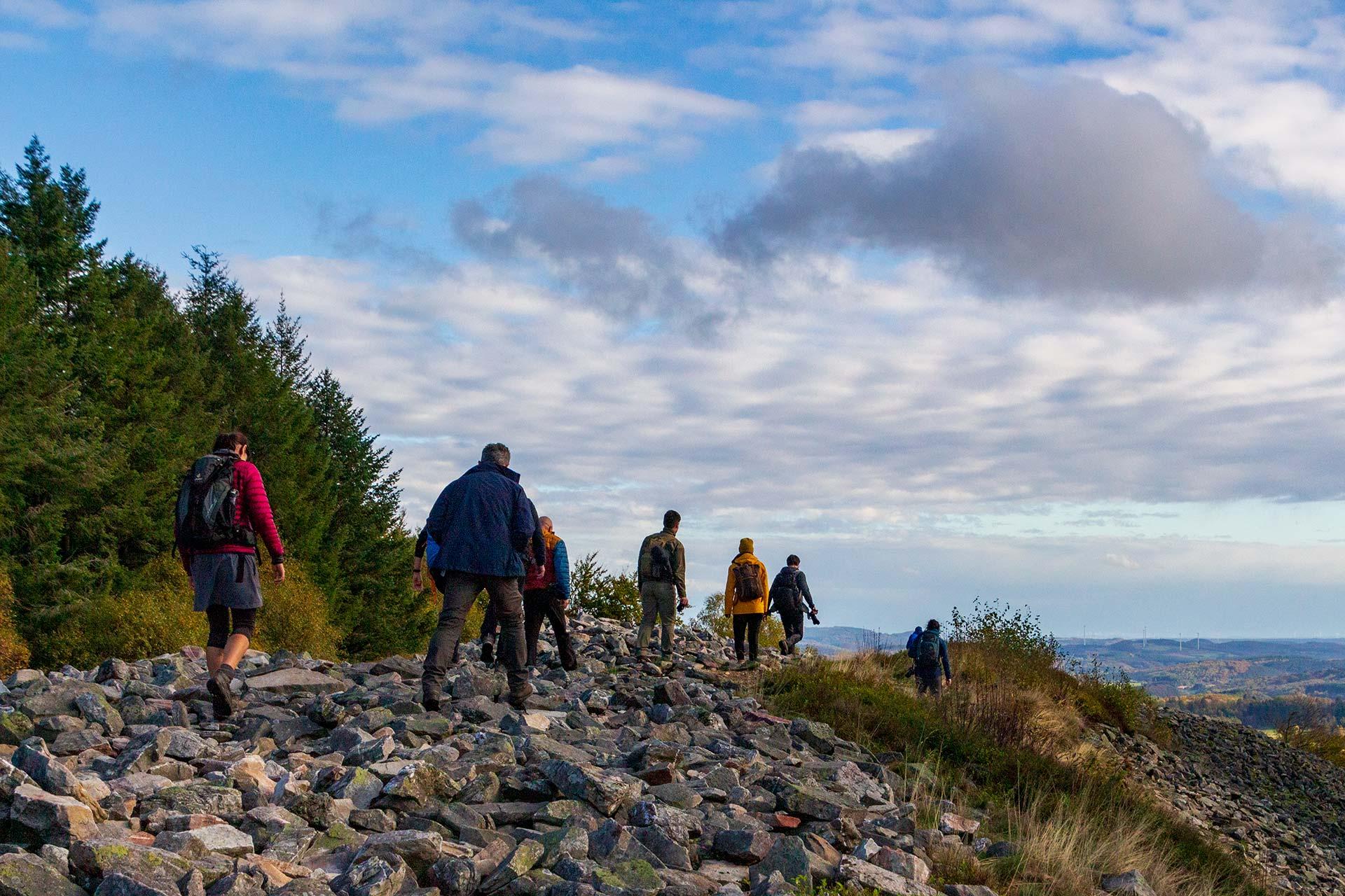 Wenn Blogger gemeinsam auf den Spuren der Kelten wandern…