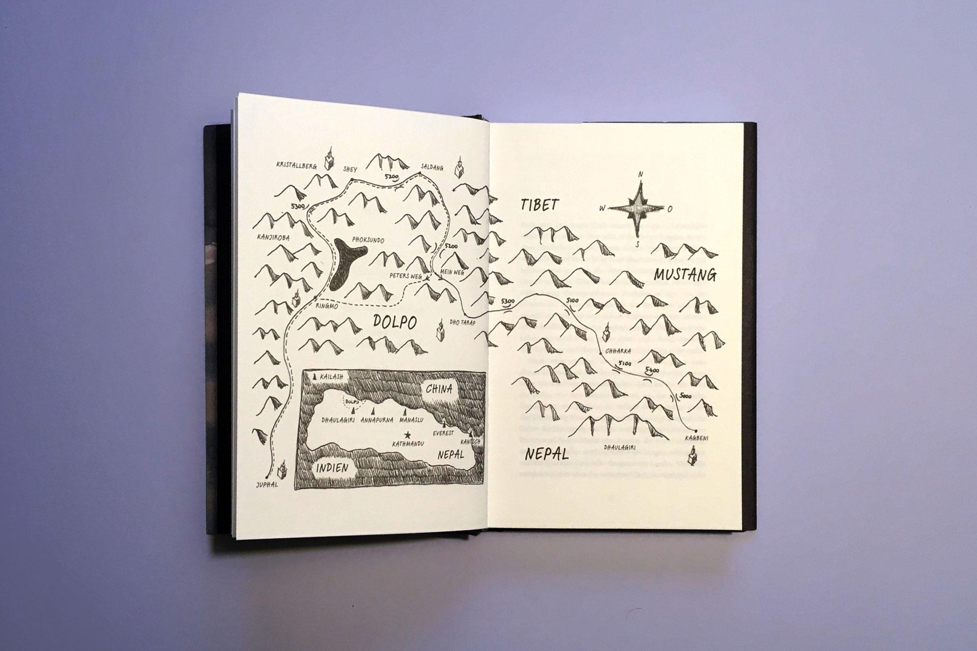 """Ausschnitt aus Paolo Cognetti """"Gehen, ohne je den Gipfel zu besteigen"""" © Penguin Verlag, 2019"""