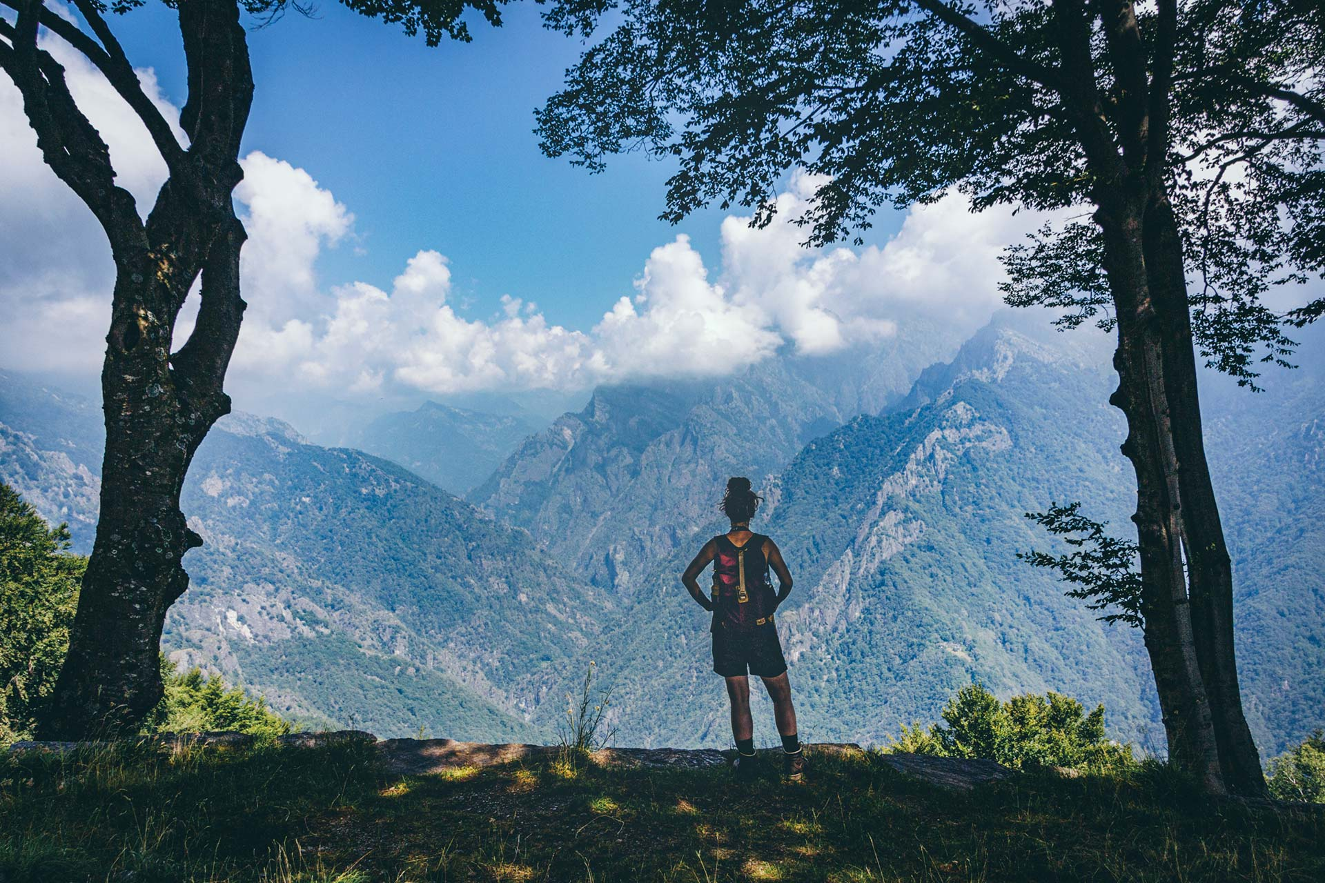 Im Nationalpark Val Grande, dem größten europäischen Schutzgebiet ohne Besiedlung innerhalb seiner Grenzen.