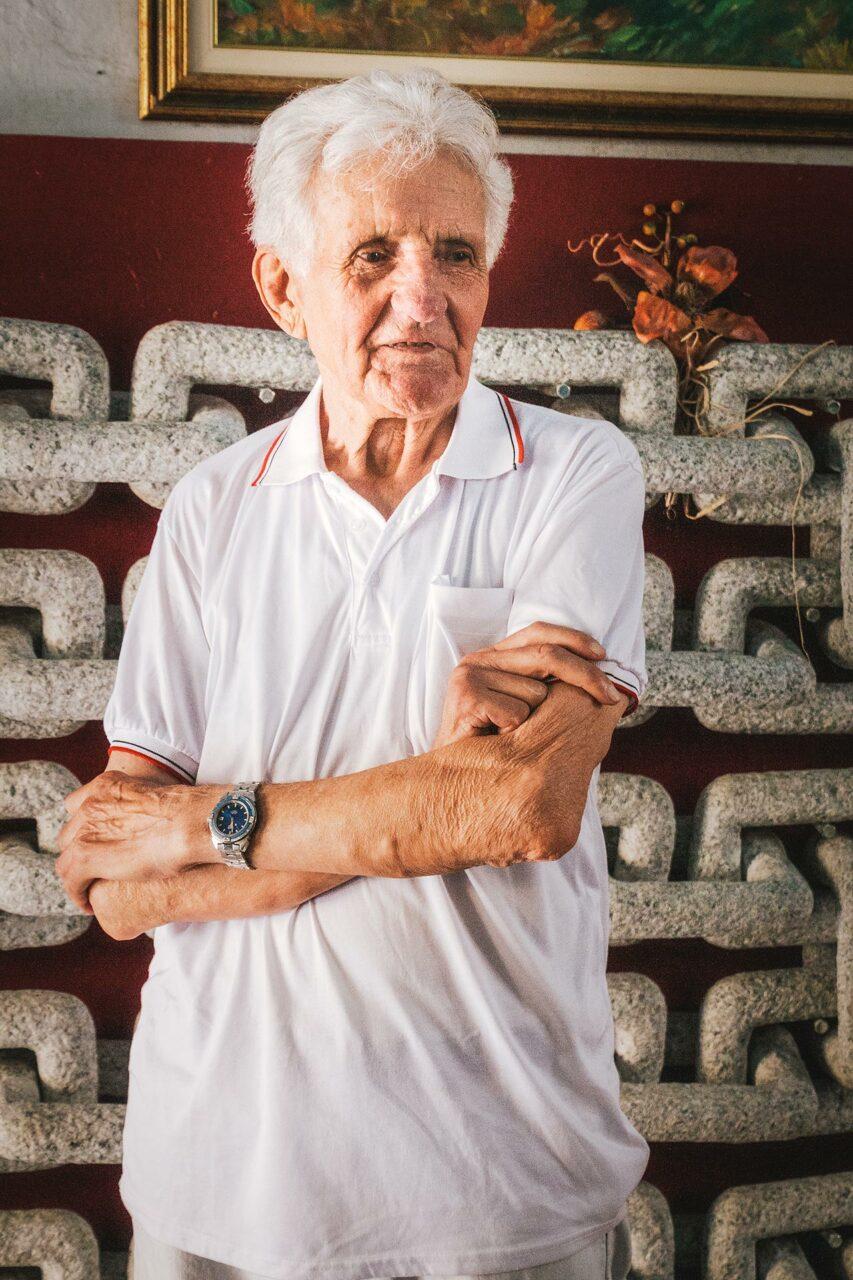 Guiseppe Lusetti, der wohl bekannteste Künstler von Mergozzo