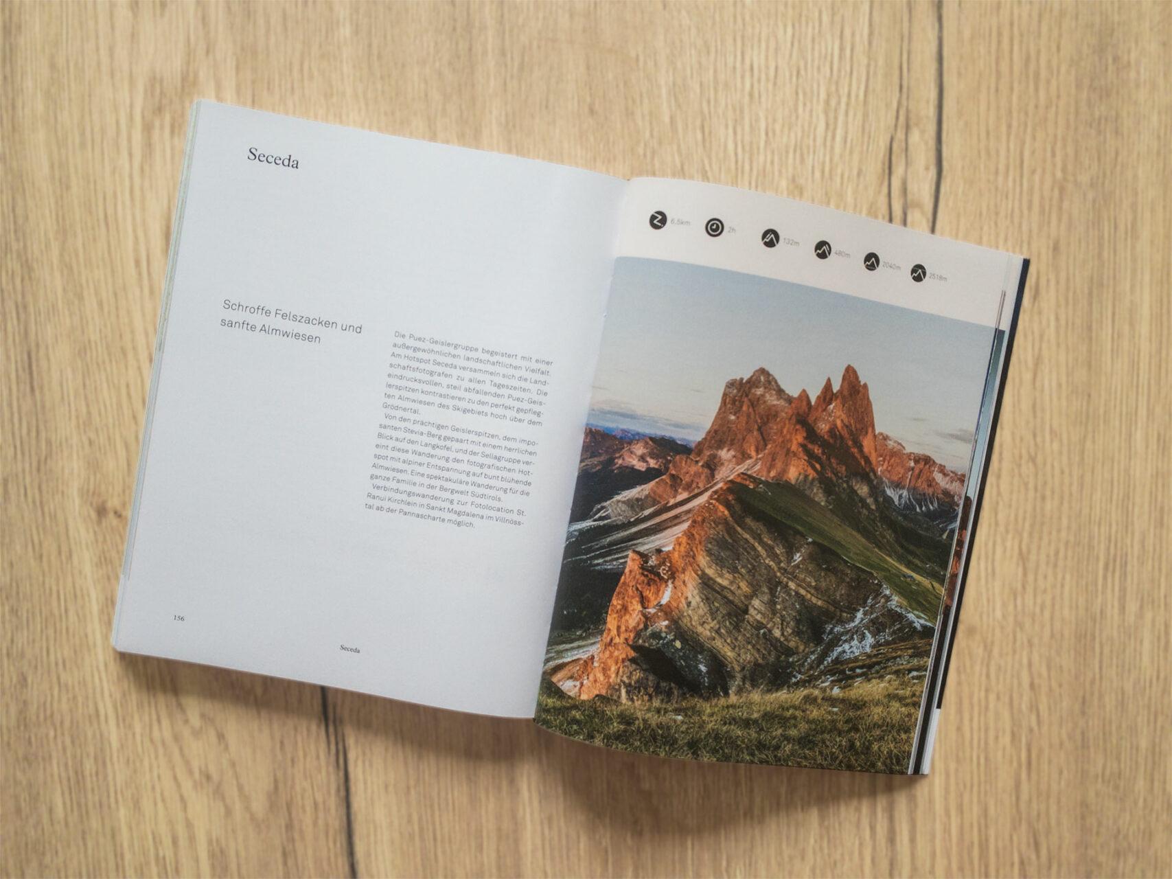 Mountain Moments von Marius Schwager, Innenseite © Eigenverlag, 2020