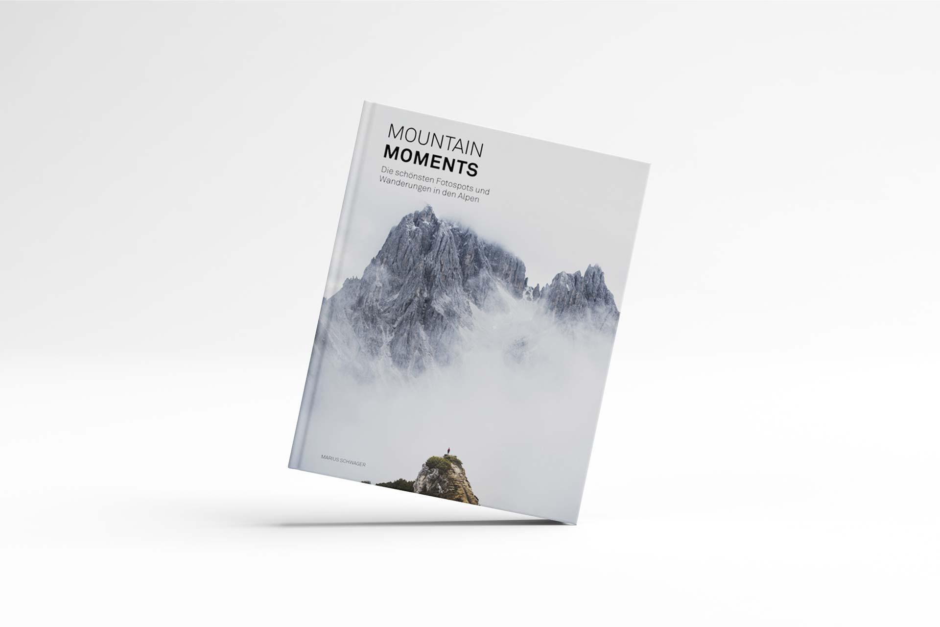 Mountain Moments von Marius Schwager, Cover © Eigenverlag, 2020
