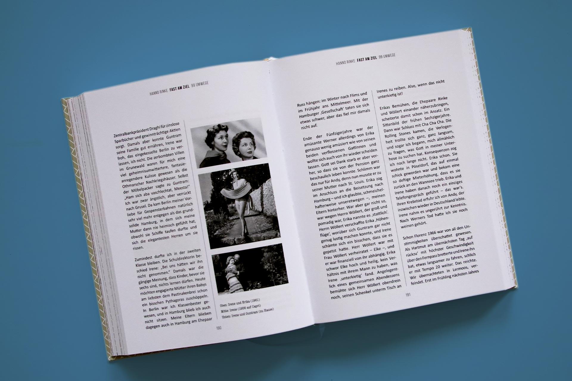 Reich bebildert entführt Hanno Rinke in sein turbulentes Leben