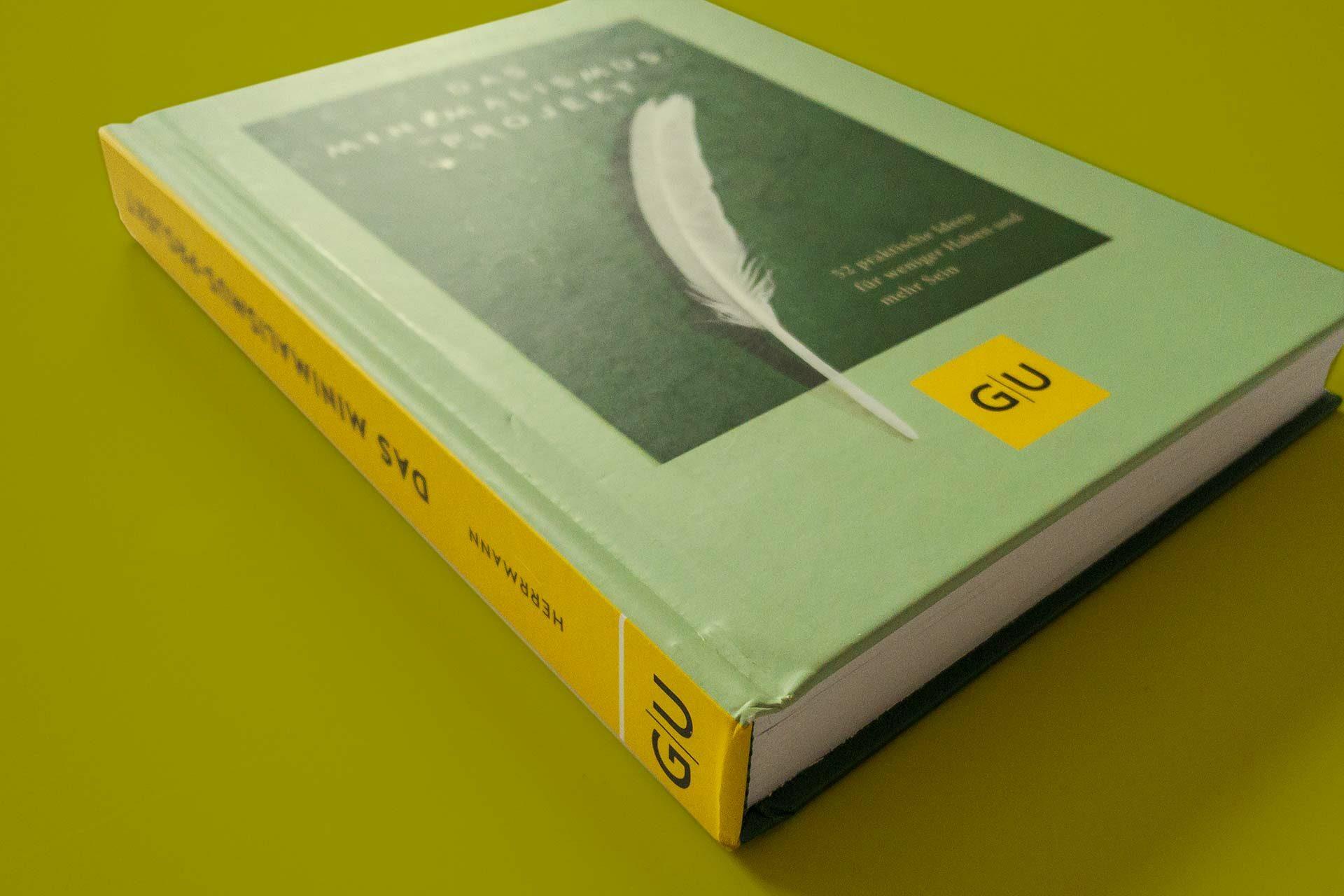 """Ein Minimalismus Buch aus dem GU Verlag: Christof Herrmanns """"Das Minimalismus-Projekt"""""""
