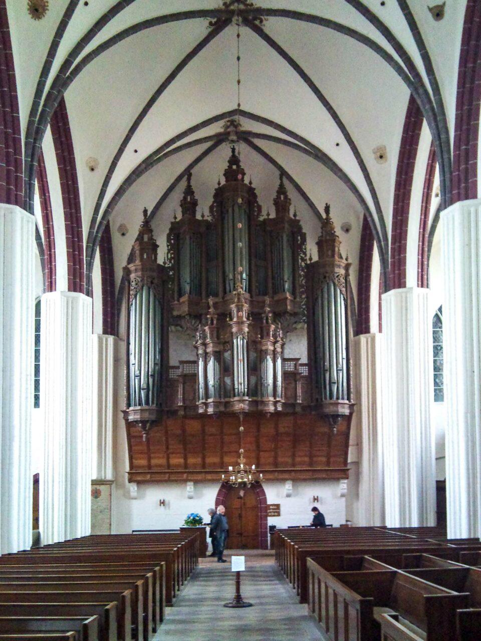 Je größer die Orte, desto größer auch die Kirchen. Hier St. Stephan in Tangermünde.
