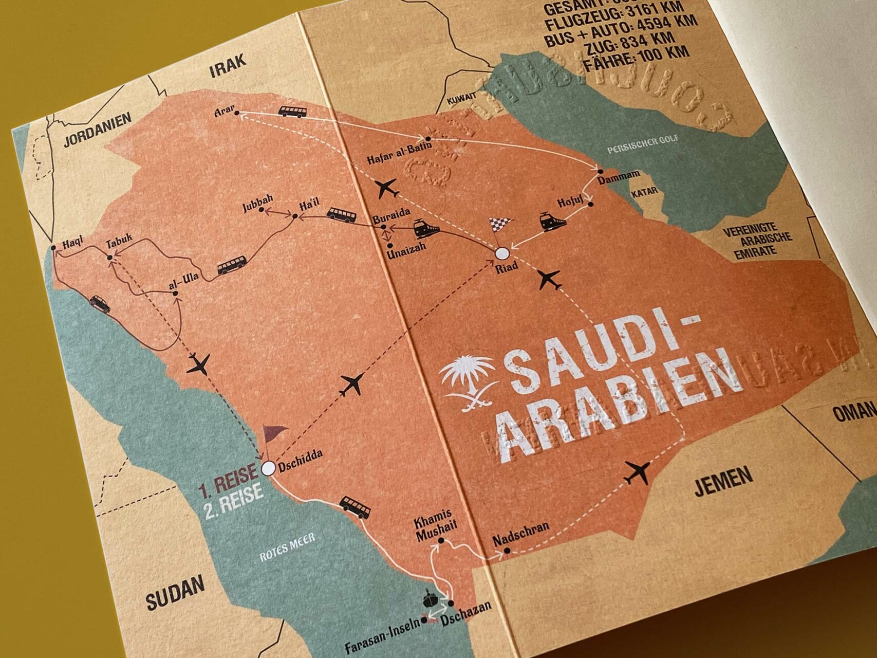"9 Wochen, 11 Gastgeber, knapp 8.700 Kilometer – Stephan Orth ""Couchsurfing in Saudi-Arabien"""