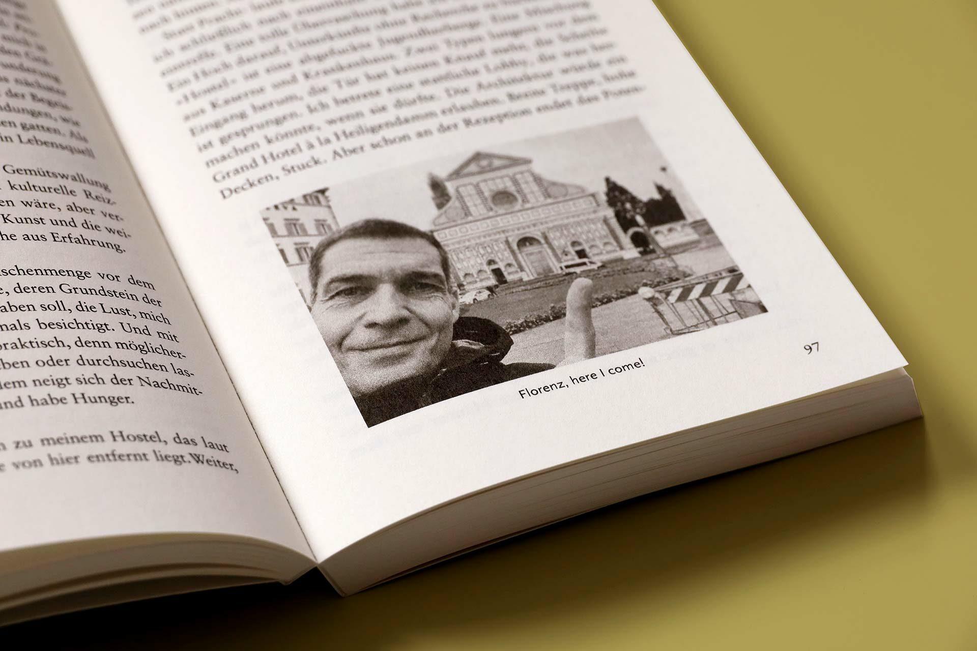 Der Autor in Florenz