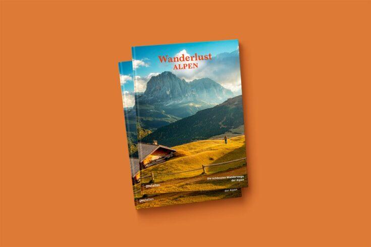 Wanderlust Alpen, Cover, © gestalten Verlag