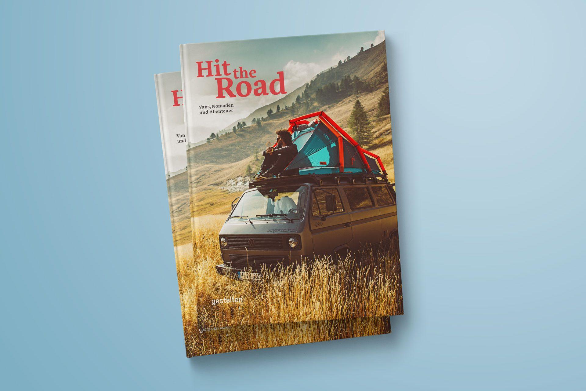 """Cover des Buches """"Hit The Road"""" // © Gestalten Verlag"""