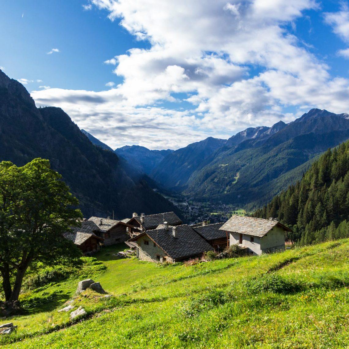 Immer wieder erhalte ich tolle Einblicke in das Ayastal, was ein Nebental des Aostatals ist und mit den Ortschaften Champoluc und Antagnod reich an Geschichte.