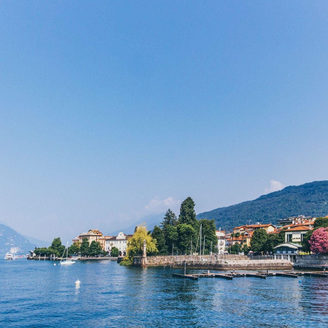 Beschaulicher Lago – Ufer der Kleinstadt Verbania