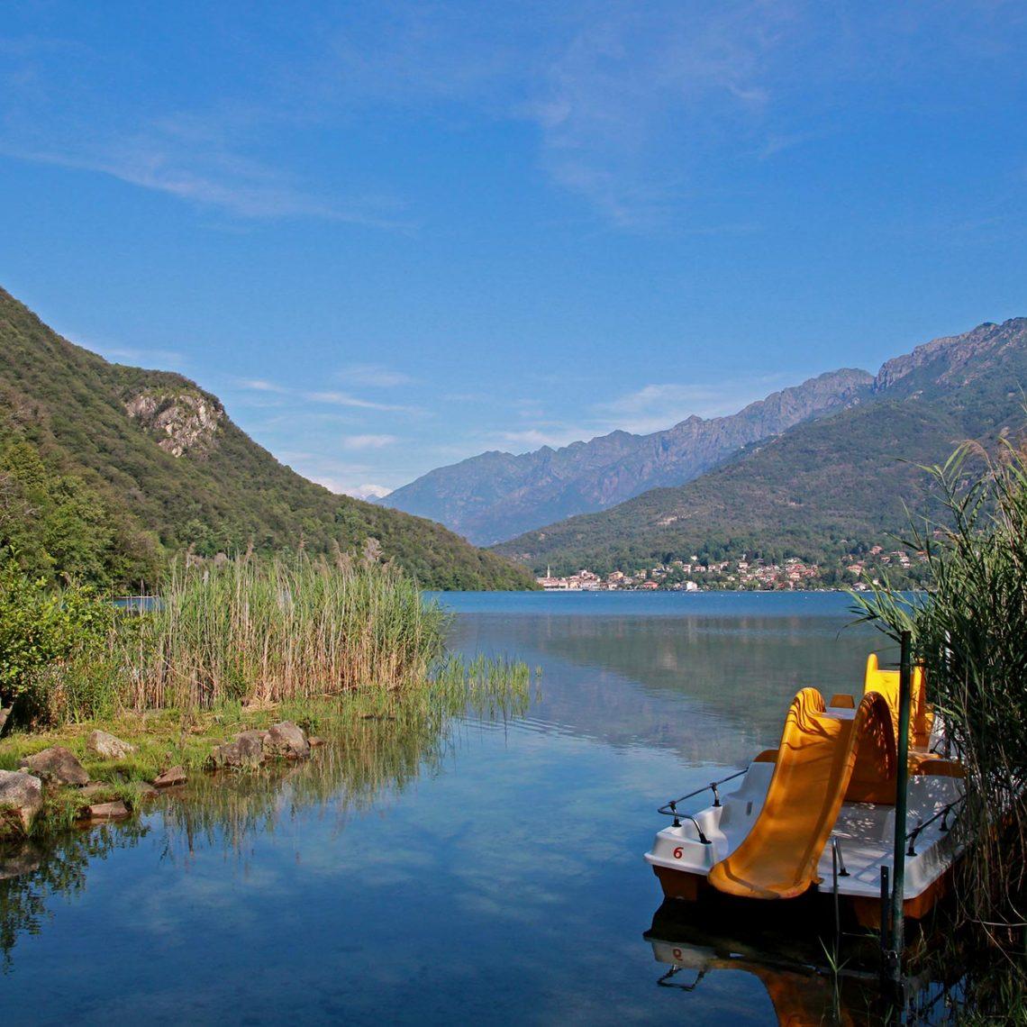 Baden im Lago Mergozzo