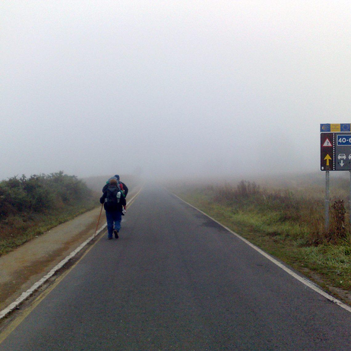 Nebel. Immer wieder Nebel. Siehste doch nichts bei.